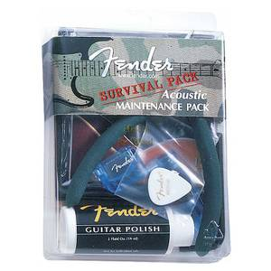 Bilde av Fender Acoustic Survival pleiesett