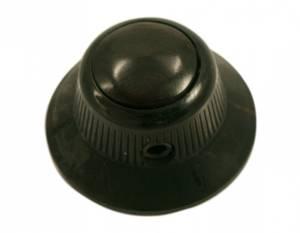 Bilde av Ufo knob - sort - ebony inlay