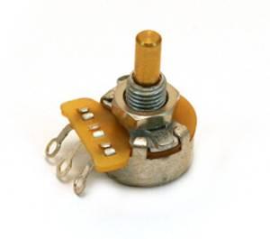 Bilde av Fender potmeter 50K LIN mini solidshaft