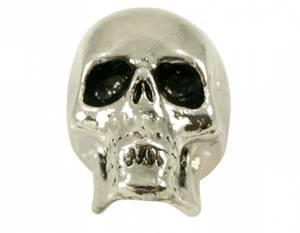 Bilde av Skull knob - Jumbo krom