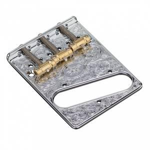 Bilde av Hosco ArtBridge for Fender Telecaster - gravert krom
