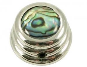 Bilde av Ringo knob - krom - Abalone