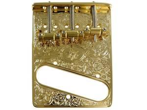 Bilde av Hosco ArtBridge for Fender Telecaster - gravert gull