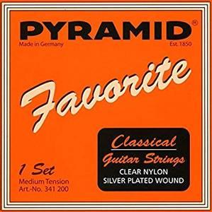 Bilde av Pyramid strenger for klassisk gitar - Medium Tension