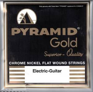Bilde av Pyramid Gold Flatwound - 010
