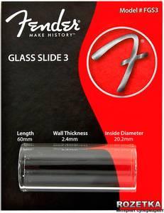 Bilde av Fender Glass Slide 3 tykk medium